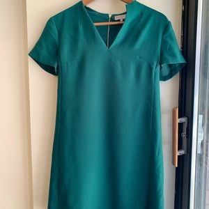 1. STATE Green Short Sleeve Dress, Size 4